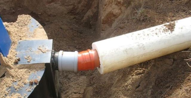 Технология прокладки труб для канализации