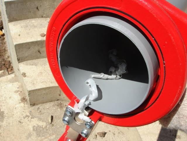 Пресс фитинг для канализации