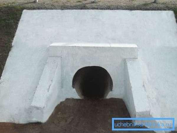 Типы сечений водопропускных труб