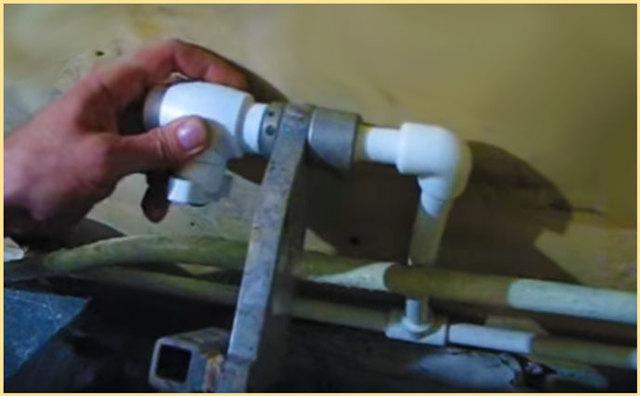 Сварка пропиленовых труб в труднодоступных местах