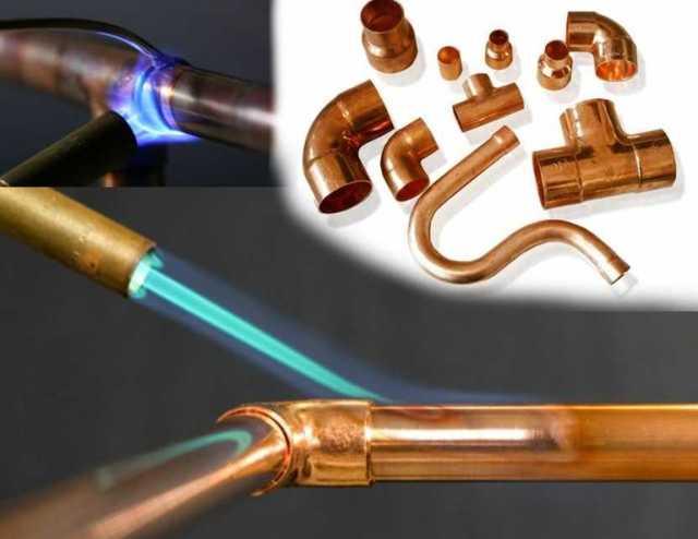 Технология пайки медных труб для отопления