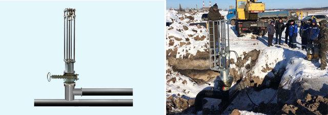 Технология вильямса врезка в трубопровод под давлением