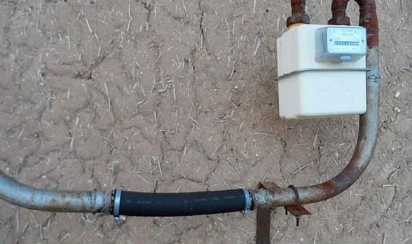 Самовольная врезка газовой трубы