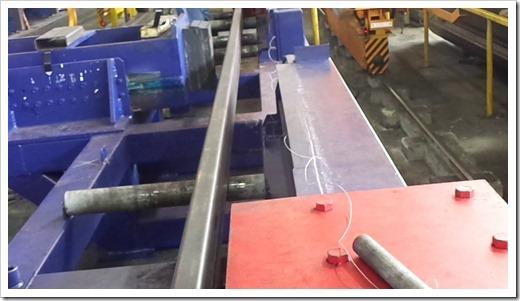 Технология правки стальной трубы