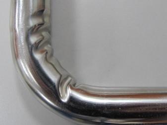 Сгибаем профильную трубу с помощью болгарки