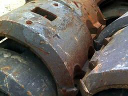 Утяжелитель чугунный кольцевой для балластировки трубопроводов d 530 мм в комплекте с крепежом