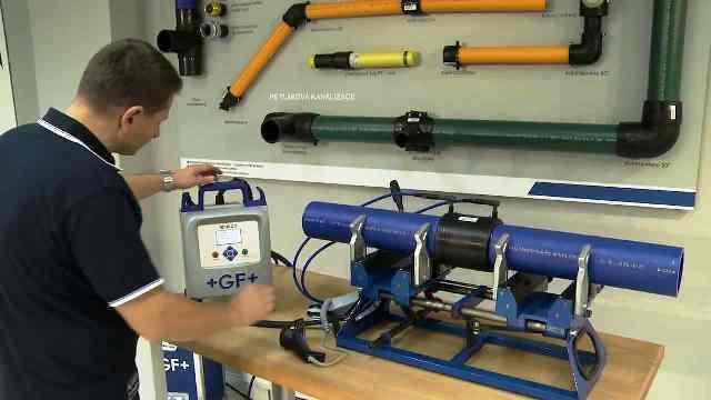Технология монтажа полиэтиленовых труб для водоснабжения