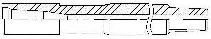 Утяжеленные бурильные трубы выпускаются горячекатаные