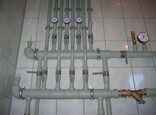 Цвет трубы холодного водоснабжения