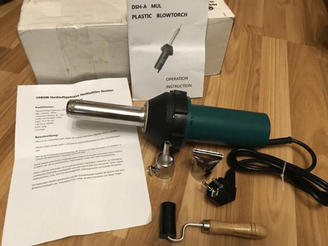Фен для сварки пластиковых труб
