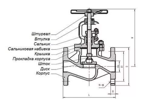 Запорная арматура кран устройство