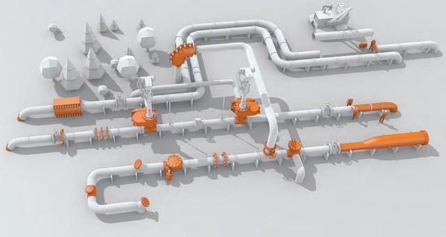 Технология ремонта газопровода труба в трубе
