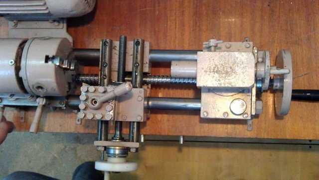 Сделать токарный станок из труб