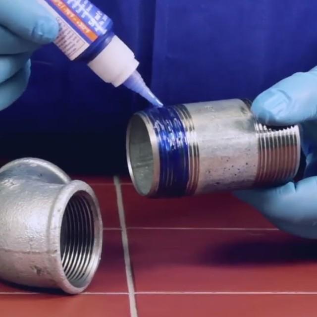 Фитинги с резьбой герметизация