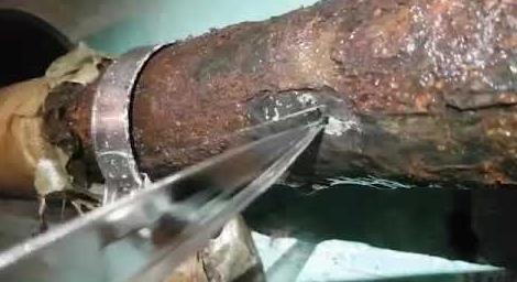 Свищ трубопровода что это такое