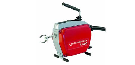 Ручное устройство для прочистки труб ротенбергер