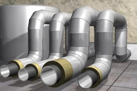 Сжатие материала для труб