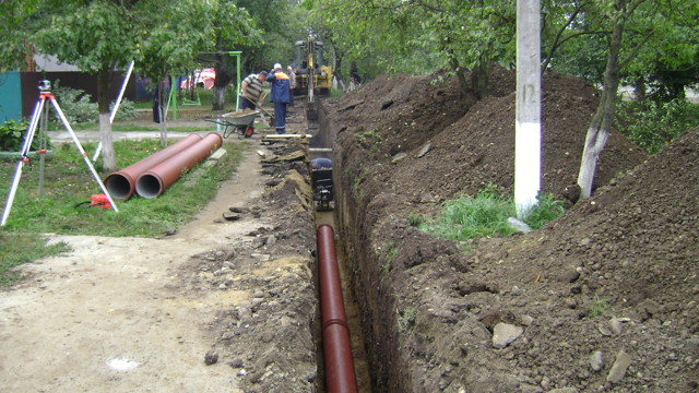 Технология прокладки труб водоснабжения