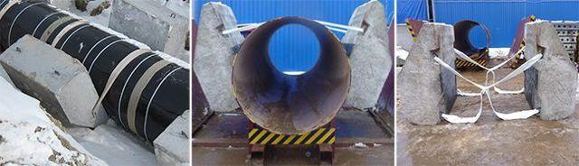 Утяжелители для труб маленького диаметра