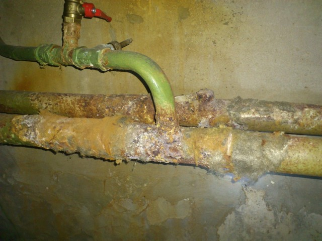 Ущерб от порывов трубопроводов