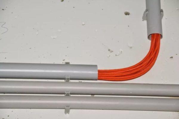 Технология монтажа трубной электропроводки
