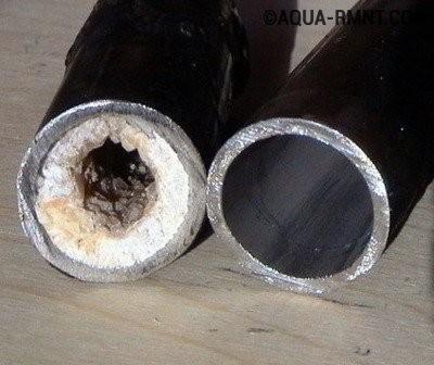 Технология внутренней очистки труб