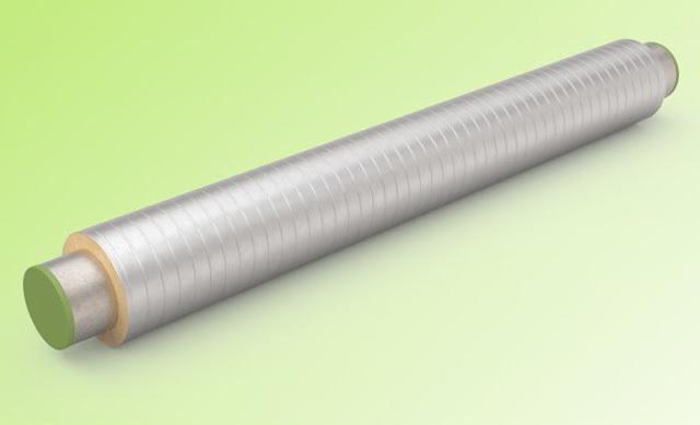Труба стальная в ппу изоляции с оболочкой из оцинкованной стали