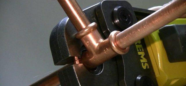 Технология прокладки медных труб