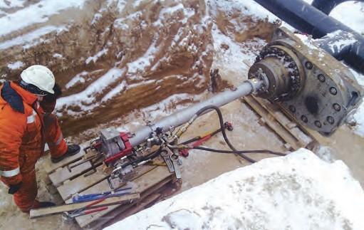 Технология ремонта трубопровода под давлением