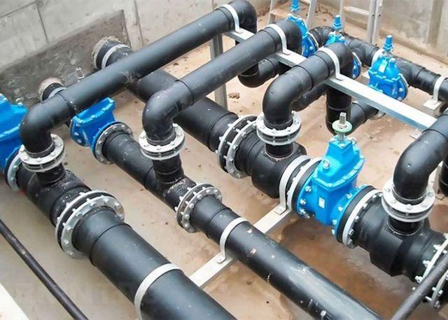 Сварные трубы для водоснабжения