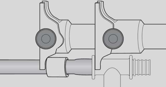 Технология монтажа труб из сшитого полиэтилена рехау
