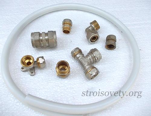 Технология работы с металлопластиковыми трубами