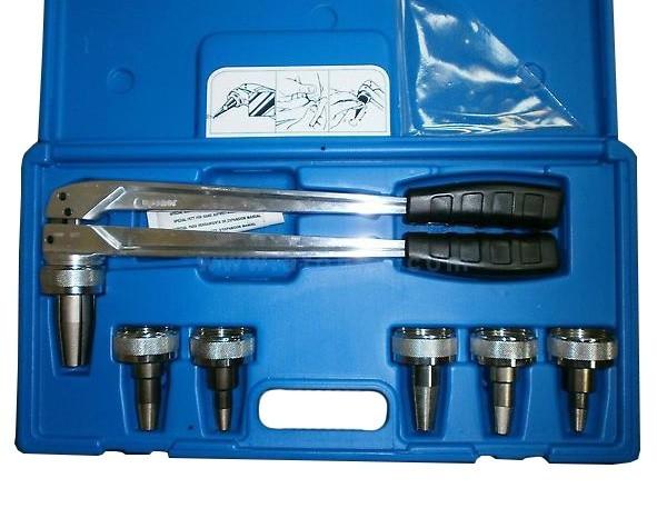 Pex 1632 комплект инструмента для аксиальных фитингов