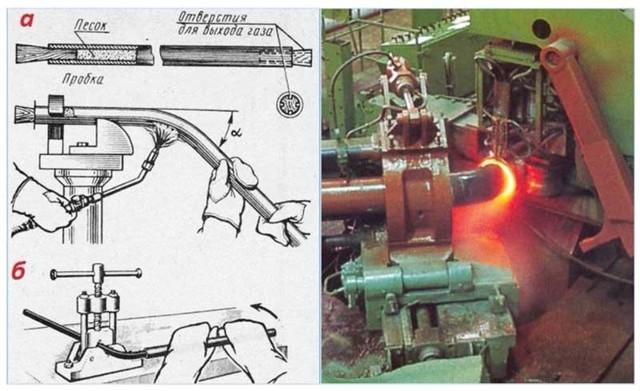 Технология гибка титановых труб