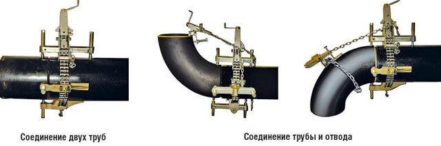 Центраторы для труб виды