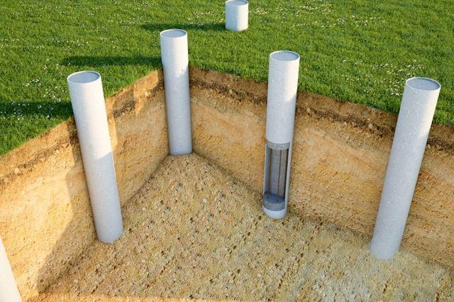 Фундамент из трубных свай