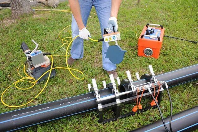 Технология прокладки водопровода полиэтиленовыми трубами