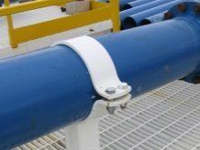 Хомут для крепления трубопровода размеры