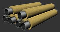 Труба стальная в ппу изоляции производство