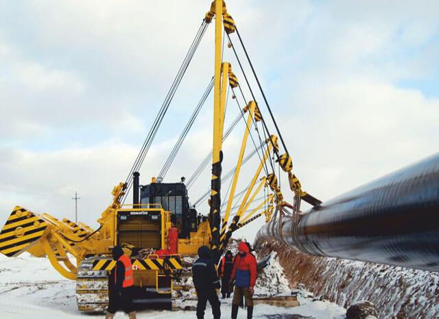 Технология замены магистральных трубопроводов
