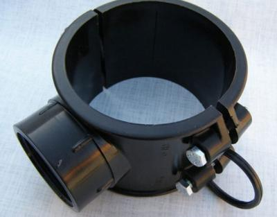 Сиделка для пнд труб установка