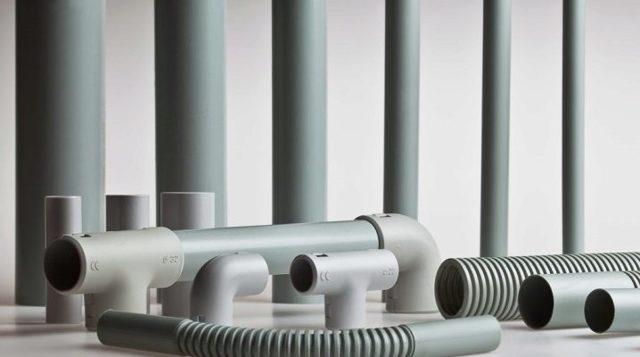 Труба электротехническая из пвх пластика