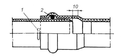 Технология изготовления монтажных узлов из неметаллических труб