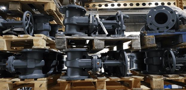 Вес стальной запорной арматуры