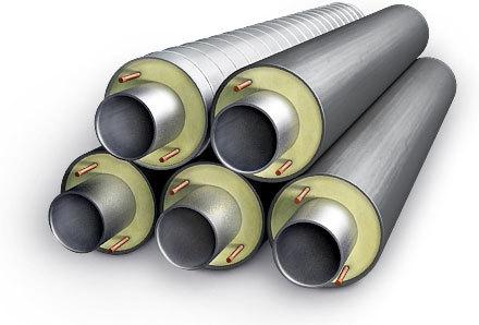Труба стальная в изоляции ппу с внутренним полимерным покрытием