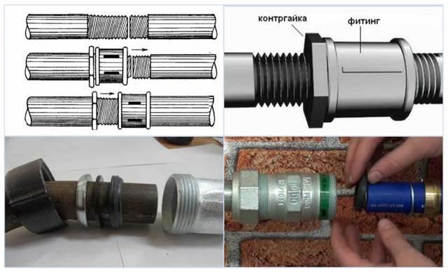 Свищей в металле труб