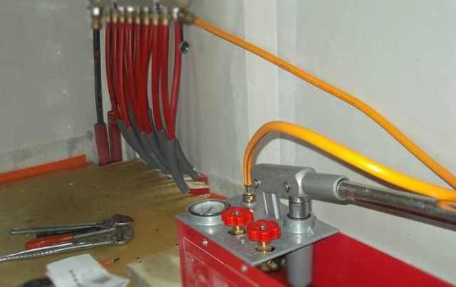Технология гидравлических испытаний трубопроводов