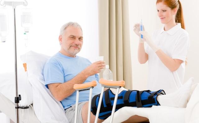 Уход за больными с переломами трубчатых костей