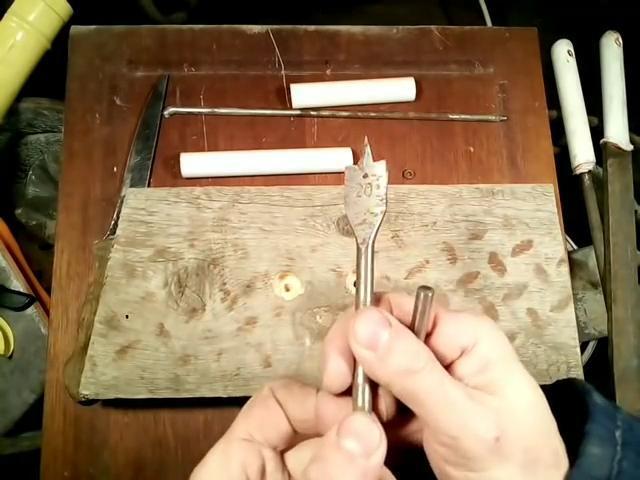 Ручки для ножей из пластиковой трубы