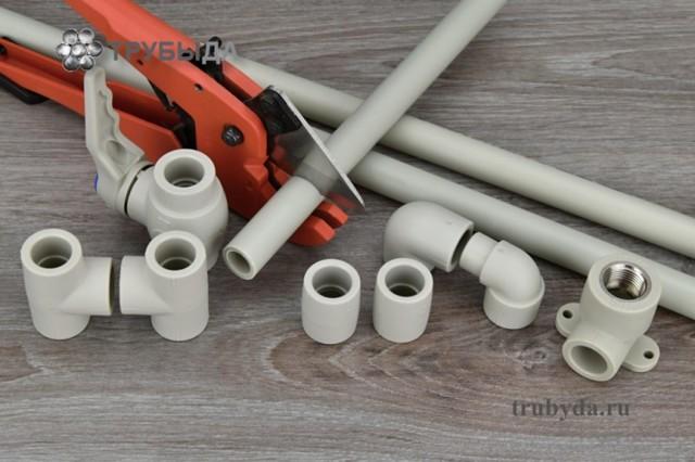 Технология сборки полипропиленовых труб